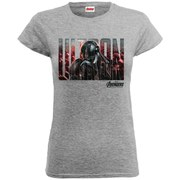 Marvel Women's Avengers Age of Ultron Ultron T-Shirt - Heather Grey