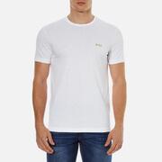 BOSS Green Men's Chest Logo Basic T-Shirt - White