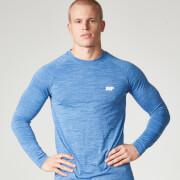 Myprotein långärmad Performance T-shirt, Herrar - Blue Marl