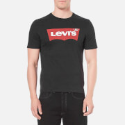 Levi's Men's Graphic Logo T-Shirt- Graphic Black