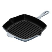 Le Creuset Cast Iron 26cm Square Grillit - Coastal Blue