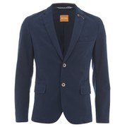 BOSS Orange Men's Benestretch Two Button Blazer - Navy