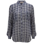 Custommade Women's Ozlem Shirt - Blue Iris