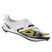 DMT Scorpius Tri Shoes - Black/White/Silver