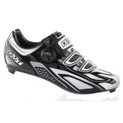 DMT Hydra Road Shoes - Black/White/Silver