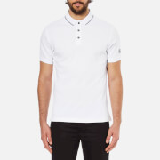 Barbour International Men's Polo Shirt - White/Black
