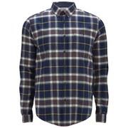 Barbour Men's Heritage Castleford Check Long Sleeve Shirt - Navy