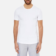 J.Lindeberg Men's Axtell Crew Neck T-Shirt - White
