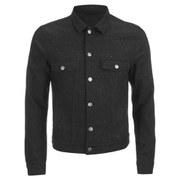J.Lindeberg Men's Starwool Donegal Denim Jacket - Black