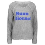 Wildfox Women's Buon Giorno Morning Sweatshirt - Vintage Lace