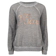 Wildfox Women's Miaou Kim Sweatshirt - Vintage Lace