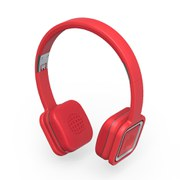 Cascos Bluetooth Wi-Fi Ministry of Sound Audio On Plus - Rojo y Metálico