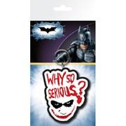 DC Comics Batman The Dark Knight Joker Serious - Keyring