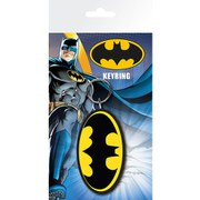 DC Comics Batman Comic Logo - Keyring