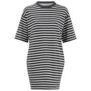 Wood Wood Women's Jean Stripe Dress - Grey Stripe
