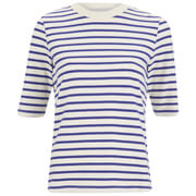 Wood Wood Women's Adda Stripe T-Shirt - Navy Stripe