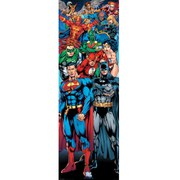 DC Comics Justice League Of America - 21 x 59 Inches Door Poster