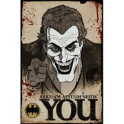 DC Comics Batman Comic Joker Needs You - 24 x 36 Inches Maxi Poster
