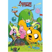 Adventure Time House - 24 x 36 Inches Maxi Poster