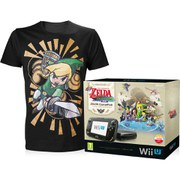 The Legend of Zelda: The Wind Waker HD Wii U Premium Pack with FREE Men's T-Shirt