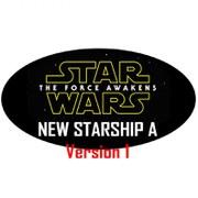 Hot Wheels Elite Star Wars The Force Awakens New Starship A Version 1