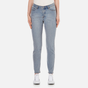 Cheap Monday Women's Donna High Rise Cropped Jeans - Dream