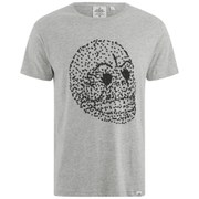 Cheap Monday Men's Standard Fly Skull T-Shirt - Grey Melange