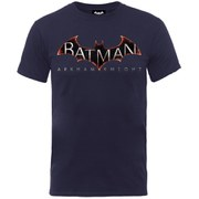 DC Comics Batman Arkham Knight Logo Men's T-Shirt - Navy