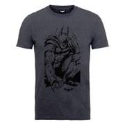 DC Comics Batman Arkham Knight Sketch Men's T-Shirt - Black