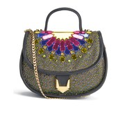 Matthew Williamson Women's Embellished Micro Satchel Bag - Black/Multi