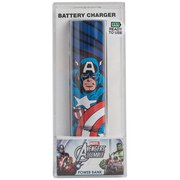 Tribe Marvel Comics Captain America Portable Power Bank