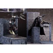 Kotobukiya DC Comics Batman Arkham Knight Batman and Arkham Knight 1:10 Scale ArtFX+ Statue Set