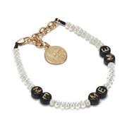 Venessa Arizaga Women's Me Me Me Bracelet - Pearl