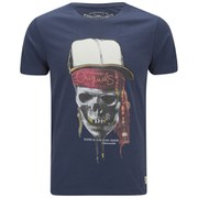 Jack & Jones Men's Skunny T-Shirt - Dress Blue