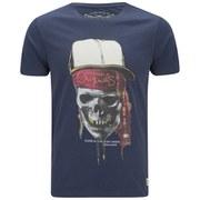 Jack & Jones Men's Skunny T-Shirt - Dress Blue