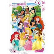 Disney Princess I Am A Princess - 24 x 36 Inches Maxi Poster