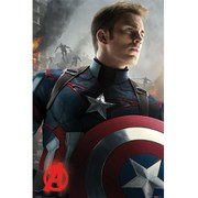 Marvel Avengers Age Of Ultron Captain America - 24 x 36 Inches Maxi Poster