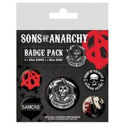 Sons Of Anarchy - Badge Pack