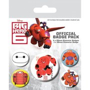Disney Big Hero 6 Baymax - Badge Pack