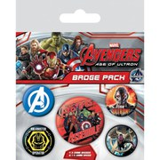 Marvel Avengers Age Of Ultron - Badge Pack