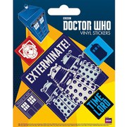 Doctor Who Exterminate - Sticker