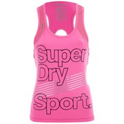 Superdry Women's Gym Vest Top - Fluro Pink