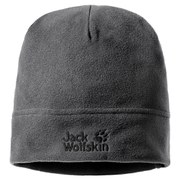 Jack Wolfskin Men's Real Stuff Beanie Hat - Black