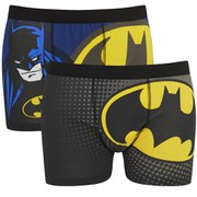 Batman Men's 2 Pack Boxers - Black
