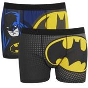 Batman Men's 2 Pack Boxers - Black