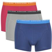 Bjorn Borg Men's Triple Pack Boxer Shorts - Drizzle