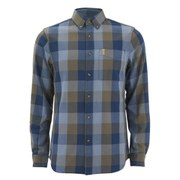 Fjallraven Men's Ovik Big Check Long Sleeve Shirt - Red