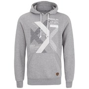 Smith & Jones Men's Kingsnorth Hoody - Mid Grey Marl