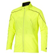 Asics Men's Lite Show Winter Running Jacket - Safety Yellow