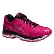 Asics Women's Gel Nimbus 17 Lite Show Running Shoes - Hot Pink/Black
